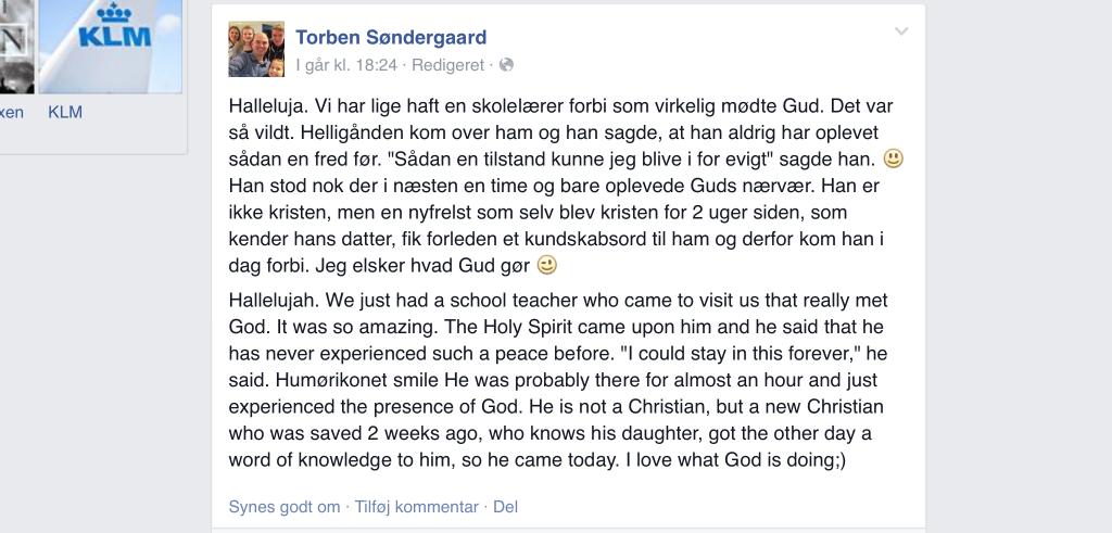 Torben Soendergaard facebook
